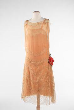 1924's Silk&cotton dress  @ the Met