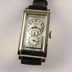 Rolex Prince Chronometer Ref 1862 9ct Gold Vintage Wristwatch Hallmarked 1935 Wwrgp2 V08