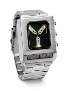 Back to the Future Flux Capacitor Wristwatch Watch  --  バックトゥザフューチャー 次元転移装置腕時計