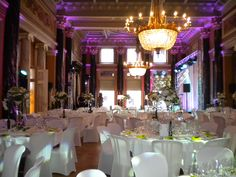 Amazing celebration last week at - perfect if you want a modern setting in a historical venue Celebration, Table Decorations, Amazing, Modern, Wedding, Home Decor, Valentines Day Weddings, Trendy Tree, Mariage
