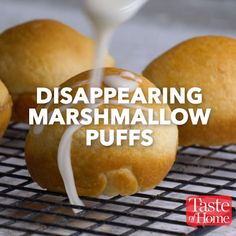 Disappearing Marshmallow Puffs Recipe