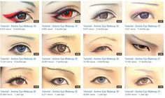 Cosplay Eye Make Up Tutorials