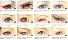 Cosplay Eye Make Up Tutorials