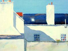 Peter Robinson (Watercolour) Klimt, Your Paintings, Watercolor Paintings, Peter Robinson, Painted Houses, City Scapes, Illustration Art, Illustrations, Colorful Artwork