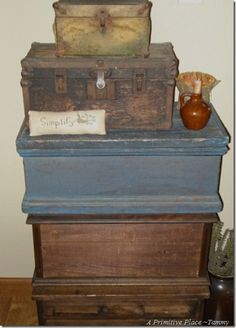 Old Wood Boxes                 ****