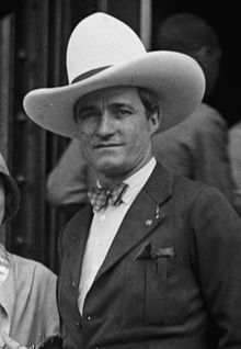 """Thomas Edwin """"Tom"""" Mix (born Thomas Hezikiah Mix;[1] January 6, 1880 – October 12, 1940) was an American film actor and the star of many early Western movies. Between 1909 and 1935, Mix appeared in 291 films,[2] all but nine of which were silent movies. He was Hollywood's first Western megastar and is noted as having helped define the genre for all cowboy actors who followed...."""