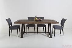 How To Impress Your Guests With These Luxury Dining Tables Luxury Dining Tables, Square Dining Tables, Wooden Dining Tables, Dining Chairs, Dining Room, Kare Design, Dining Area Design, Contemporary Dining Table, Interiores Design