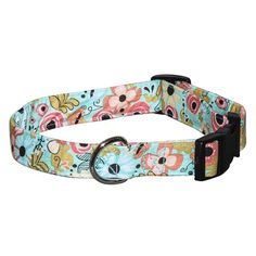 Elmou0027s Closet Hello, Springtime Dog Collar | PupLife Dog Supplies
