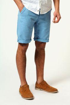 Blue Chino Shorts