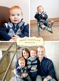 Family Portraits by Erin Johnson Photography!