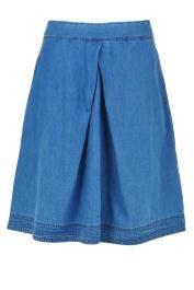 POMINA  #tatuum #skirt #jeans #kickpleat