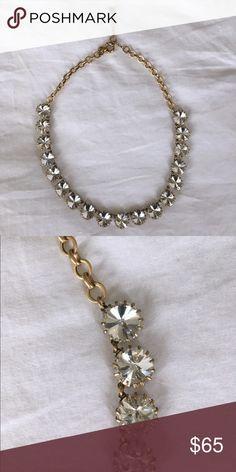 J. Crew Crystal Venus flytrap statement necklace J. Crew Crystal Venus flytrap statement necklace J. Crew Jewelry Necklaces
