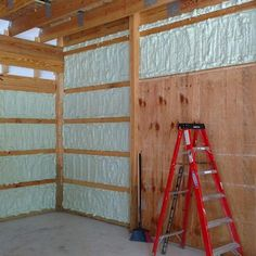 Foam It Green 602 Closed Cell Spray Foam Insulation Kit Gorgeous-Garage Spray Foam Insulation Kits, Garage Insulation, Insulating Garage Walls, Metal Building Insulation, Cabana, Building A Pole Barn, House Building, Building Ideas, Garage Floor Paint