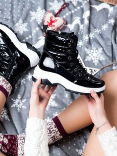 Pohodlné snehule Puma Fierce, Dr. Martens, High Tops, Combat Boots, High Top Sneakers, Wedges, Shoes, Fashion, Moda