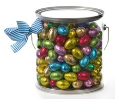 Easter Egg Tin | Corporate Easter Gift Idea with Chocolate Easter Eggs | Bockers and Pony