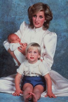 Can you believe that Charles schedules his Polo dates around the intended delivery date of the baby?: Diana, William & Harry