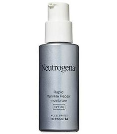 Gold winner: Trumping the competition, Neutrogena Rapid Wrinkle Repair Moisturizer SPF 30 ($22 for 1 oz.) was a hit with testers, who reported that it improved skin tone, softened fine lines, and firmed skin.