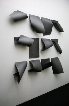 Diogo Pimentao, Documented description, 2012 (c) Courtesy de l'artiste et de la… Art Sculpture, Wall Sculptures, Modern Sculpture, Modern Art, Contemporary Art, Wal Art, Paperclay, Expositions, Art Plastique