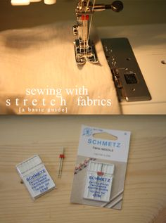 A basic guide to sewing with stretch fabrics // @Megan Nielsen