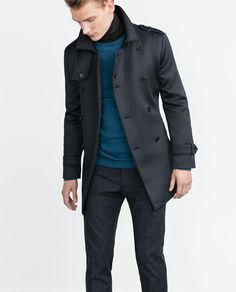 Zara Double-Breasted Trench Coat