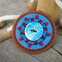 Brožka s keramikou