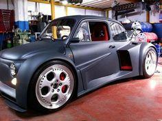 Fiat 500 с 6.2 л. двигателем V12 от Lamborghini Murcielago и мощностью 580 л.с.   вк- АВТО-МОТО life Lamborghini Murcielago, fiat 500, tuning, Castoms