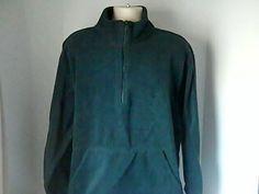 Reebok Mens Green Fleece Jacket XL/XG Polyester #Reebok #fleese
