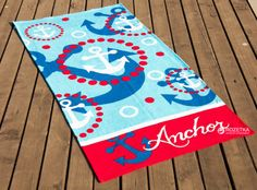 Полотенце Lotus Anchor 75х150 Разноцветное (svk-2000022061148)
