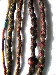 bohemian Custom Dreadlocks Synthetic Extensions $35