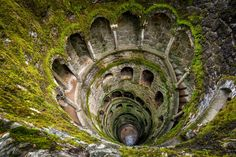 In the gardens of the Quinta Da Regaleira in Sintra Portugal, you will find the initiation well.  This well was never used a source of water, instead, it was used for ceremonial purposes that included Tarot initiation rites.