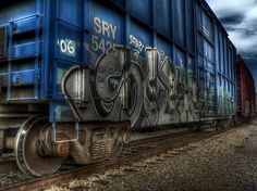 Railcar Graffiti, one of my favorite places to see graffiti