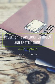 Credit Card Applicat