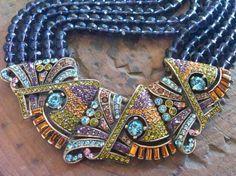 Heidi Daus gorgeous choker necklace