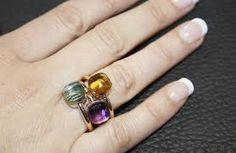Resultado de imagen de anillos gucci oro blanco