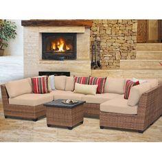 TK Classics Laguna 7 Piece Deep Seating Group with Cushion & Reviews | Wayfair