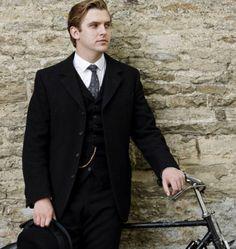 Dan Stevens with... A bike