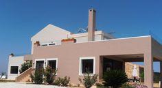 Villa Lofos , Περιβόλια, Ελλάδα . Crete Holiday, Villa, Mansions, House Styles, Home Decor, Decoration Home, Room Decor, Fancy Houses, Villas