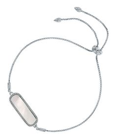 Look at this #zulilyfind! Mother-of-Pearl & Sterling Silver Oval Adjustable…