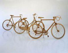 Bicicletas de Carton a escala 1:1