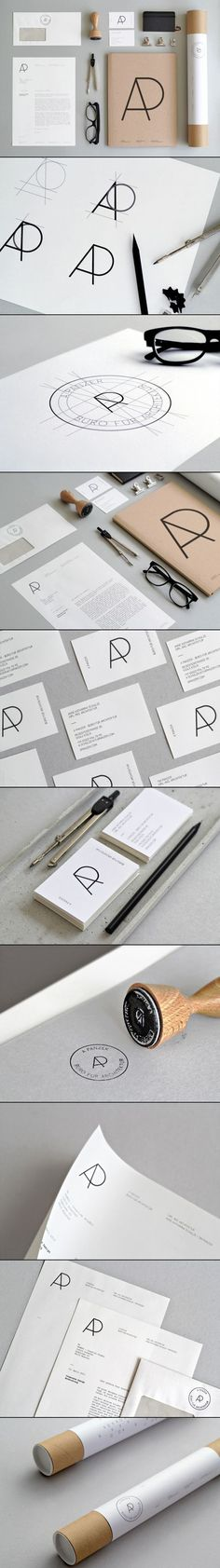 A Panzer, Büro für Architektur Brand Identity via Design made in Germany.: