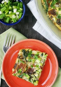 This one is a real winner — a baked egg casserole that goes together fast. Toss it in the oven on the morning of your first Phase 2 day on the Fast Metabolism Diet.