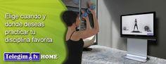 """http://www.telegim.tv/particulares - #TelegimTV #HOME es Tu #Gimnasio #Online en #Casa -#TelegimTV HOME es """"Tu #gimnasioonline en #Casa"""" donde podrás ver #video #clases #online #profesionales de #Aerobic, #Yoga, #Pilates, #Step, Ciclo indoor/Spinning, #Elíptica indoor, TBC, GAP ( #Glúteos #Abdominales y #Piernas ), #Tonificación y #Streching..."""