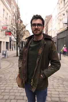Barbour People — Looking smart on the streets of Manchester