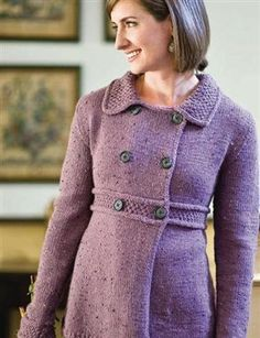 Manchester Jacket, As Seen on Episode 304 - Media - Knitting Daily (Free pattern!)
