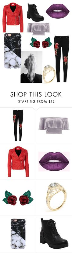 """""""Raving"""" by rileykavanagh on Polyvore featuring WearAll, River Island, IRO and Atelier Swarovski"""