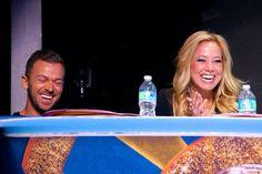 Artem & Sabrina judging Guest Competition Round 2 #DWTSAtSea - pic credit: @popularcruising