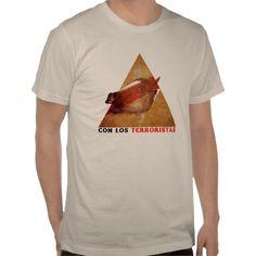 """Harlem Shake """"Con los terroristas"""" Tee Shirts"""