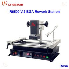 Sale Low Cost Bga Machine Ly Ir6500 V 2 For Motherboard Chips Repairing With Rs232 To Usb #Usb #Rs232