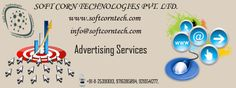 Advertising is the basis for any business. It is a form of mass communication, a powerful marketing tool for every business man. Soft corn tech provided advertising service for your business.