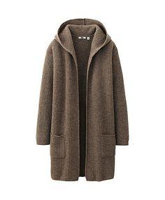 uniqlo | WOMEN HEAVY GAUGE SWEATER COAT